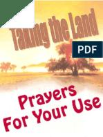 Taking the Land Prayers