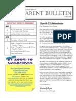 ES Parent Bulletin # 19 (May 15)