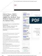 NEET Cancelled – GUJCET eligible for Medical -Para Medical Admission 2013 in Gujarat State _ Ojas Gujarat.pdf