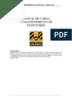 Manual de carga de extintores - Jose Musse