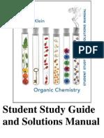 Organic Chemistry By David Klien - Solution Manual
