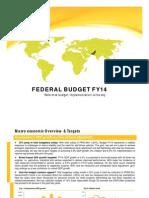 Federal Budget FY14