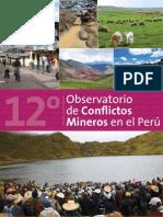 12 Reporte Observatorio Conflictos Mineros