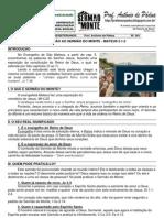 LIÇÃO 01 - EBD - INTRODUÇÃO AO SERMÃO DO MONTE (MT 5.1-2) impresso