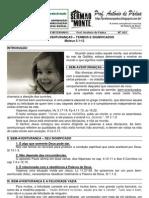 LIÇÃO 02 - EBD - AS BEM AVENTURANÇAS - TERMOS E SIGNIFICADOS (MT 5.1-2) impresso