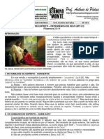 LIÇÃO 03 - EBD - OS HUMILDES DE ESPÍRITO – DEPENDÊNCIA DE DEUS (MT 5.3) impresso