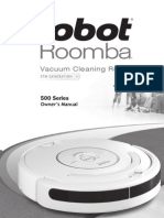 Roomba 500 Series Manual