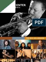 Ferst Season Brochure 2013-2014