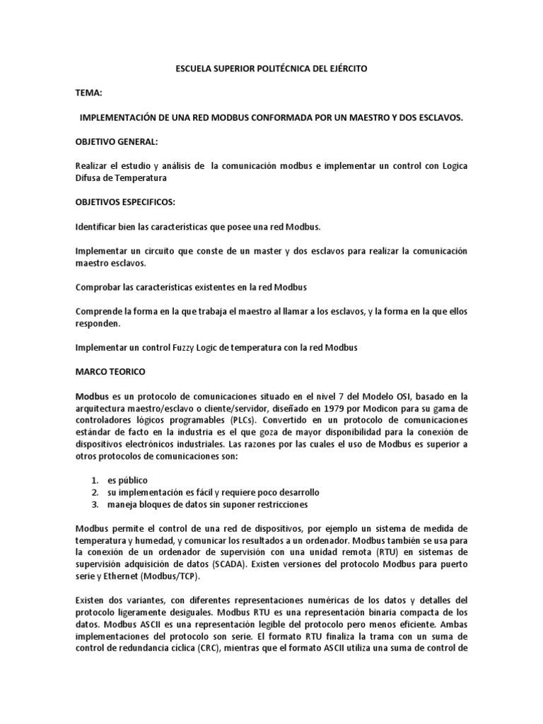 Perfecto Marco Modbus Rtu Elaboración - Ideas de Arte Enmarcado ...
