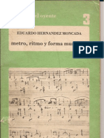 Metro Ritmo y Formas Musicales