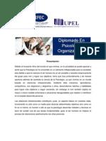 Diplomado en Psicologia Organizacional(1)