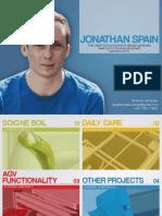 Jonathan Spain Portfolio 2013