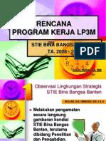 Rencana Program Kerja LP3M.pps