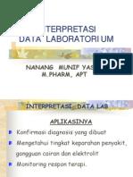 interpretasi data kreatinin klirens