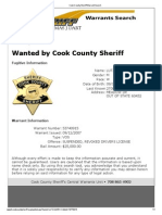 Cook County Sheriff Warrant Search MARK C LUTZ