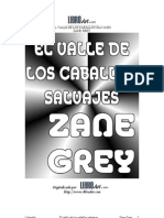 Grey, Zane - El Valle de Los Caballos Salvajes
