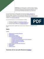 Función del gobierno en los mercados financieros de los países desarrollados