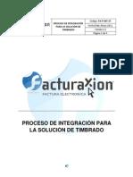 Proceso de Integracion Para La Solucion de Timbrado v1.3