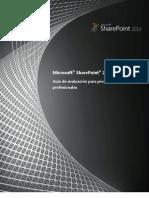Manual Sharepoint Profesional