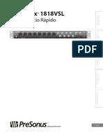 AudioBox1818VSL QuickStart PO
