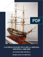 Las Fragatas de Vela de La Armada Espanola 1650-1853