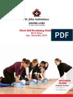 St John Ambulance Training Guide