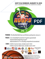 Hoops for Humanity Shootout