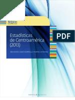 Estadisticas de Centroamerica 2013