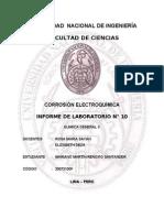 Corrosión Electroquímica