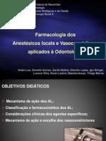 Seminario Cirurgia II - Anestesicos