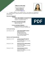 romela new resume