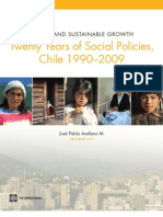 Twenty Years of Social Policies, Chile 1990–2009. Equity and sustainable growth