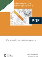 Fiscalidad y Equidad Genero