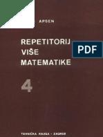 Boris Apsen-Repetetorij Vise Matematike 4