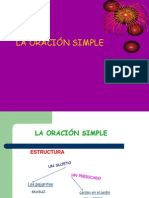 PPT de La Oracion Simple