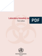 WHO Bio-Safety Manual