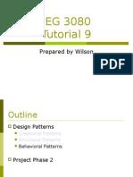 Command Design Pattern + Action Delegate