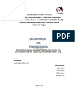 Glosario de Medico Quirurgico Claudia