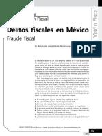 Delitos Fiscales en Mexico. Fraude Fiscal