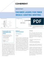 AR Excimer Lasers for Fiber Bragg Grating Writing 280907