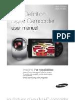 Samsung Camcorder HMX-R10 User Manual