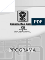 Program a 2011 Prd