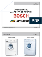 Lavadora de Roupas Bosch Continental Evolution Komfort
