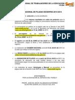 Proceso Examen 2013