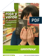 Alimentos Transgenicos Guia Roja y Verde OGM Greenpeace