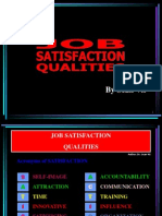Job Satisfaction Qualities