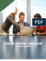 Guide du nouveau Consultant - Formation et Outils