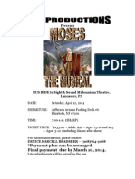 Moses Flyer