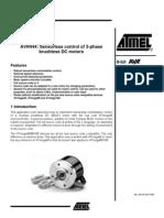 Sensorless Control of 3-Phase Brushless DC Motors (AVR uC)