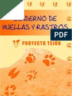 Cuaderno de Huellas y Rastros - Proyecto Tejon